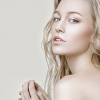 Blonde woman with flawless skin feature image for profhilo treatment
