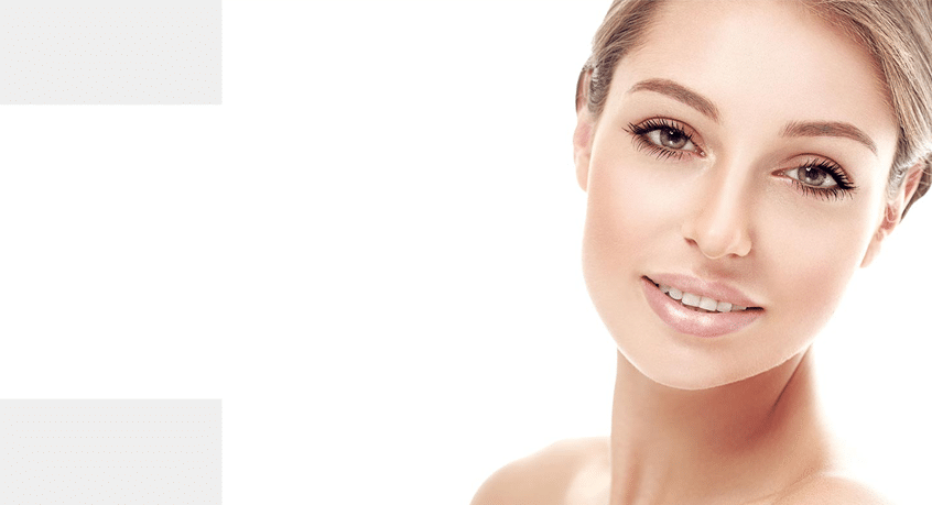 feature image for skinade collagen drink of beautiful woman with beautiful skin looking at the camera
